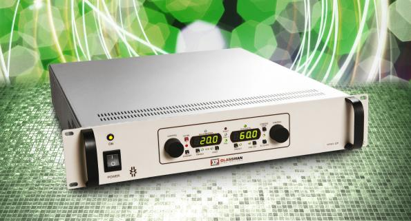 60kV, 1200W rack mount DC supplies aim at labs and manufacturing