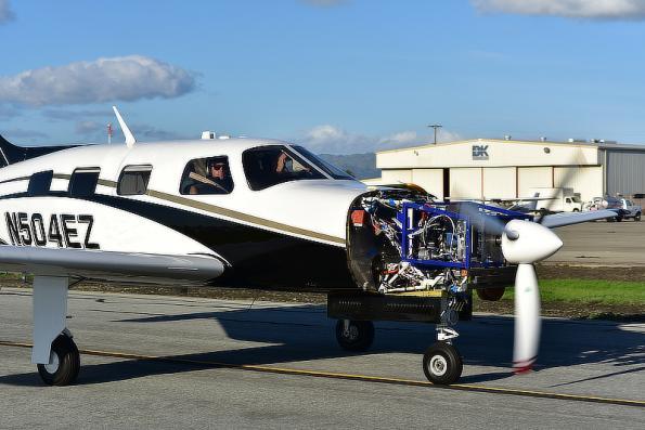 Russian physicist flies hydrogen powertrain for electric