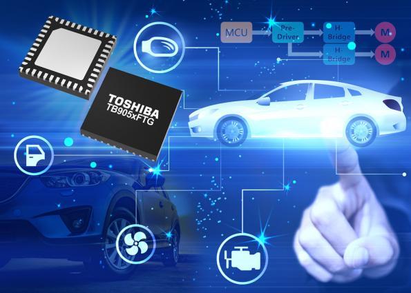 Efficient implementation DC motor control in automotive applications