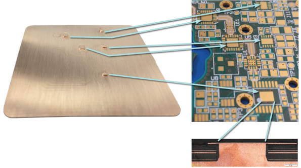 Thermal Management in High Performance RF and Microwave PCBs