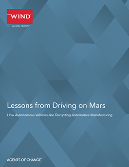 Wind River: Lessons from Driving on Mars - Autonomous Vehicles Disrupting Automotive Manufacturing