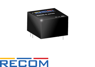 RECOM provides 5W AC/DC in a tiny 1″ x 1″ package