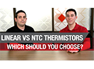 Linear vs NTC thermistors: which should you choose?
