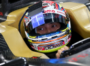High-transmittance colour transparent display hits Super Formula helmet