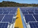 New efficiency record for a large silicon solar cell